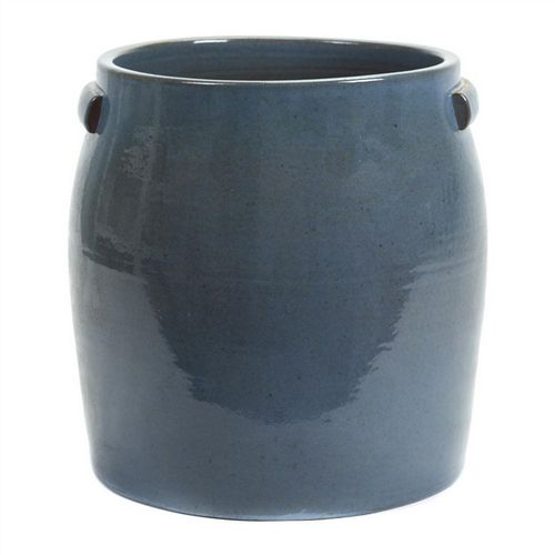 Earthenware Plate Pot - Extra Large